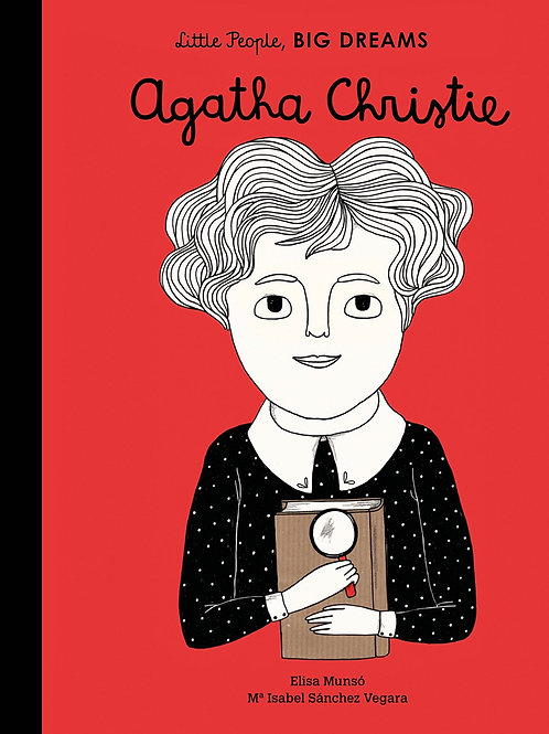 Little People, Big Dreams Book -  Agatha Christie
