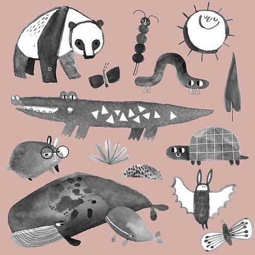 Temporary Tattoo | Animals