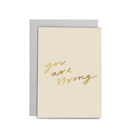 You are Strong Mini Card