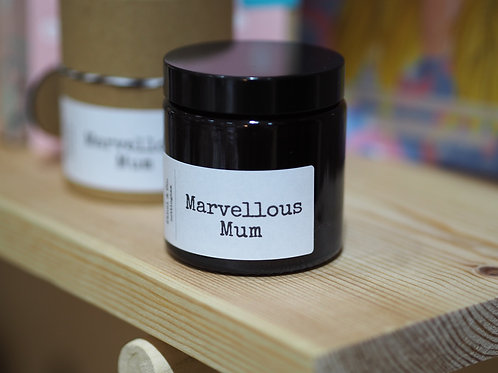 120ml Hand Poured Marvellous Mum Candle