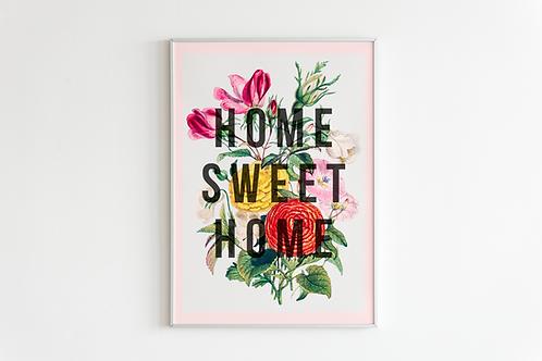 Home Sweet Home | A4 Print