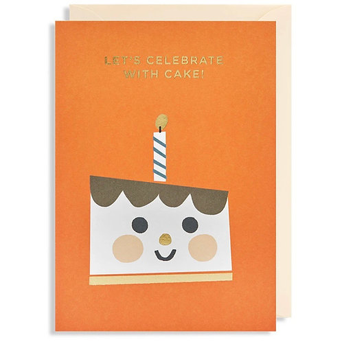 Let's Celebrate With Cake Card