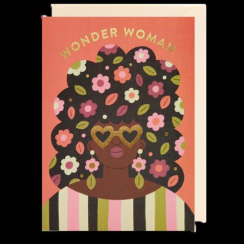 Wonder Women Face Card
