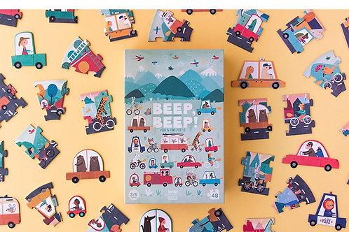 Beep! Beep! Look & Find Puzzle