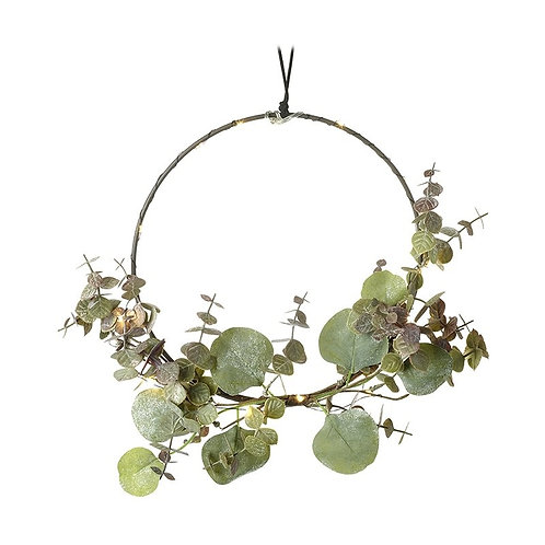 Light Up Hoop with Green Foliage