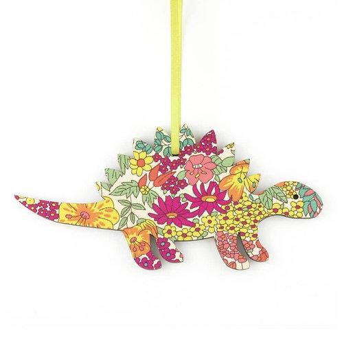 Stegosaurus Wooden Liberty Decoration