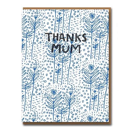 Thanks Mum Floral Card