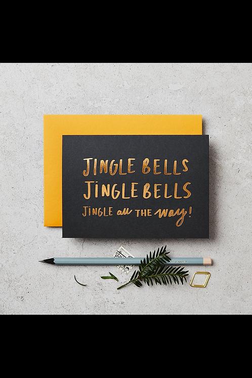 Luxury Jingle Bells Cards Set of 6