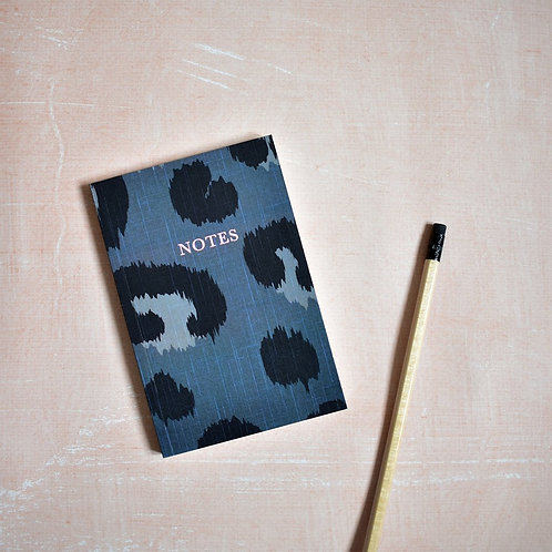 A6 Notebook | Leopard 'Notes'