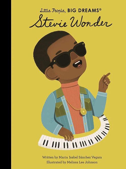 Little People, Big Dreams Book -  Stevie Wonder
