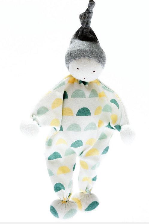 Organic Cotton Baby Comforter Half Moon