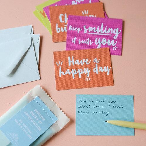 Random Notes of Appreciation - Notelets