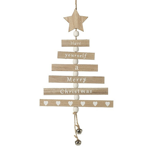 Wooden Have Yourself a Merry Christmas Hanging