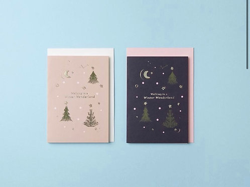 Walking in a Winter Wonderland Card