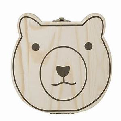 Natural Wood Baby Keepsake Box