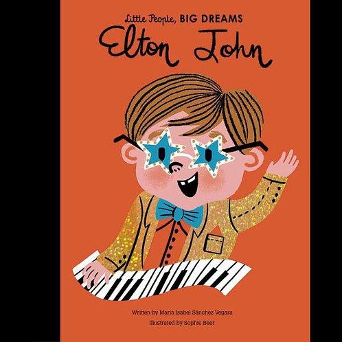 Little People, Big Dreams Book - Elton John