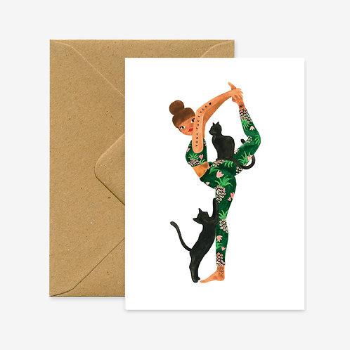 Yoga Forever Card