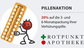 """Pillenaktion: 20% Rabatt auf Ihre """"Pille"""" im September"""