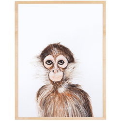 Mono enmarcada varilla chata 1,5  20x30