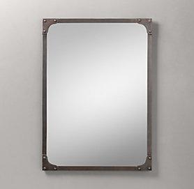 Espejo marco industrial