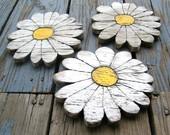 Carteles Madera Flores