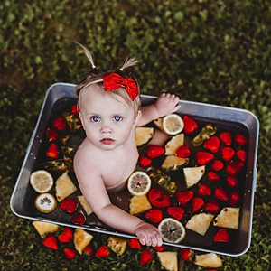 Patterson Family - Raeley 1 yr.