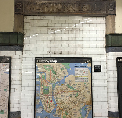 Subway Map Floating On A Ny Sidewalk New York Ny.10 Things You Didn T Know About The Nyc Subway