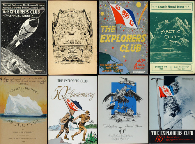 Adventure is Out There: A Night at the Explorers Club