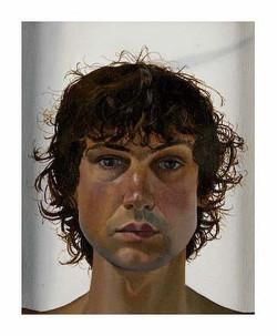 """'Against the light', 2003, oil on linen, 10"""" x 8"""""""