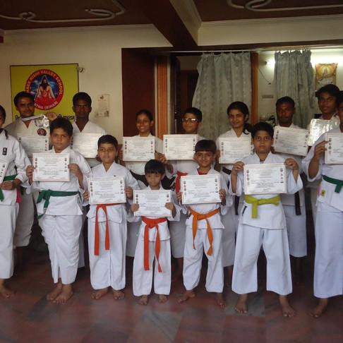 Karate   Junior Brown Belt