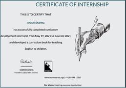 Internship at Team Everest NGO