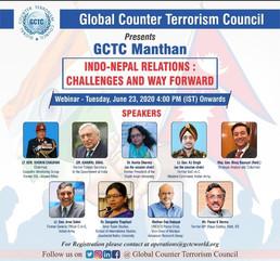 Indo-Nepal Relations Webinar   GCTC