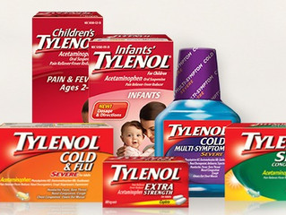 Dosing information on Acetaminophen (Tylenol)