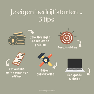 Je eigen bedrijf starten: 5 tips die mij hebben geholpen