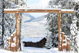 Twin Peaks Gate Sign