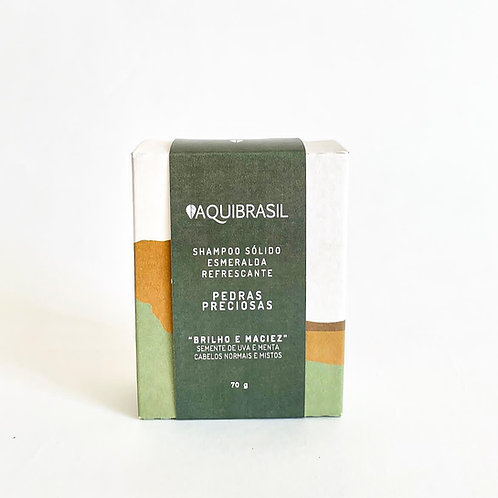 Shampoo Sólido Esmeralda Refrescante