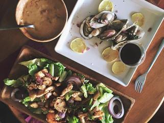 食譜: 魚露烤牡蠣  超簡單!