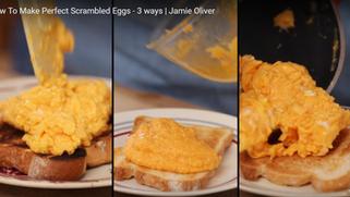 傑米奧利佛教你三種方法做出完美炒蛋!