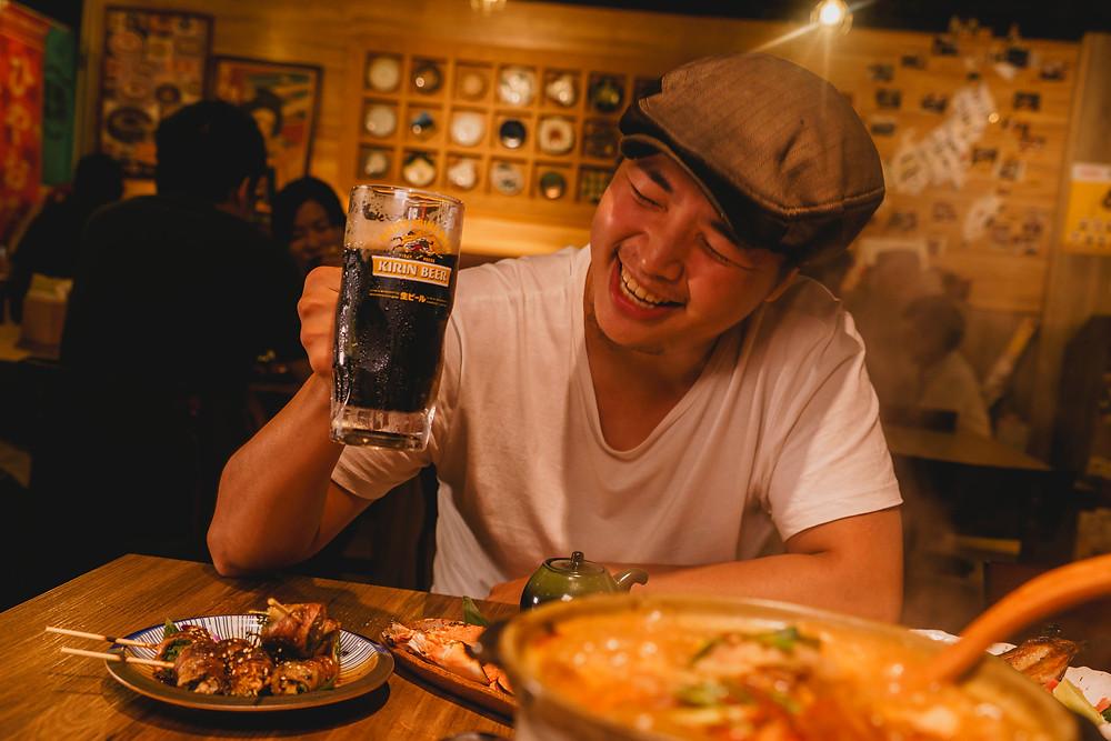男人味 x KIRIN一番搾黑啤酒
