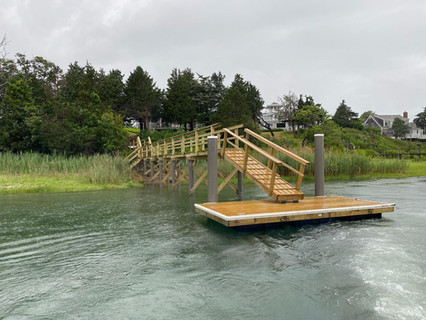 Completed Pier & Float