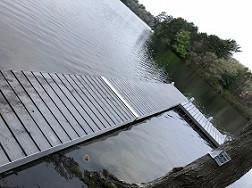 Aluminum Dock Installation