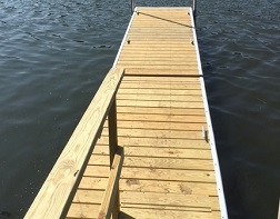 Completed Dock System