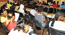 Momi Africa Youth Training Session