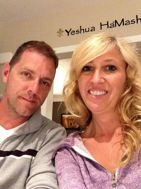 """""""A husband and wife build a home together. God is our foundation..""""- Jon & Kathy"""