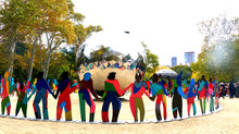 Spanish Artist Cristóbal Gabarrón Unveils 'Masterpiece' to Commemorate 70 years of United Nations