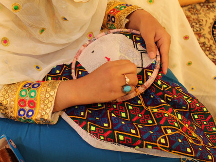 Goldozi, the Embroidery of Afghanistan