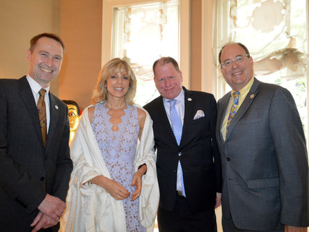 Reception for HRH Prince Edward Earl of Essex