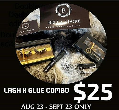 Lash × Glue combo pack
