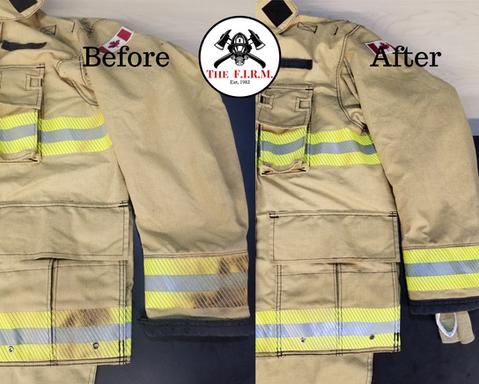 Burnt coat 3M reflective trim