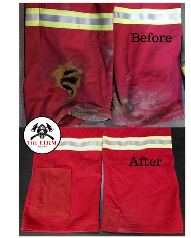 Coverall heat damage